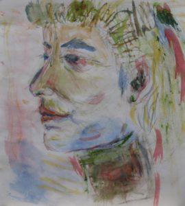 Edwardian Lady by Sylvia Scarsbrook
