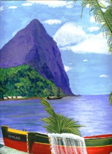 St Lucia by John Prince