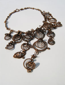 Steampunk Necklace by Evie Pascal