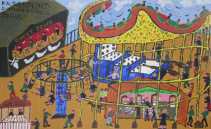 Fairground by S Parnell