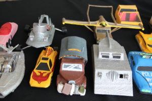 15 Handmade Toy Vehicles by Trevor Boddington