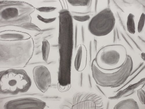 7971    2201    Shells & pebbles from the beach    £60 (unframed)    4526