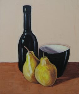 Study of Still Life 1 by Adrian Mitchell