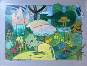 Still Life Garden by Gerald Shepherd