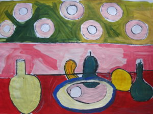Still Life with Circles by Jenny Lewis