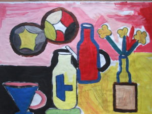Still Life with Two Circles by Jenny Lewis