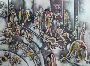 Street scene by John Taylor