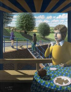 Yellow Jumper by Alan Kestner