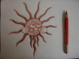 Sun Sepia by Leigh Garfield
