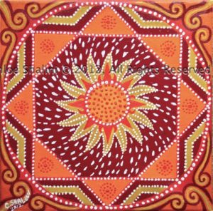 Sunburst Mandala 2012 by Becoming Yourself 3 2012