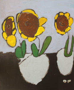 Sunflowers by Nina Dawn Pritchard