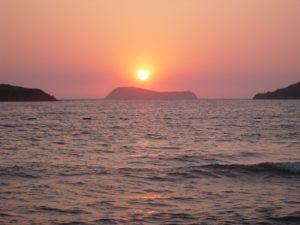 Bodrum sunset by mumamafia