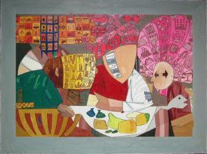 Supper At Emmaus by Gerald Shepherd
