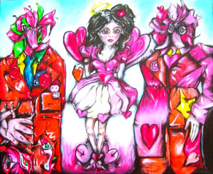 I had sex with a flower man by Jasmine Surreal