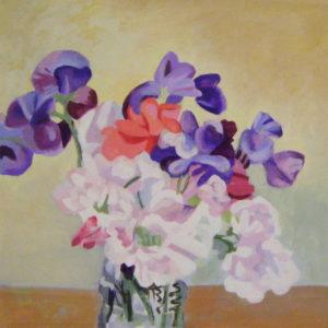 Sweetpeas by Ann Appleby