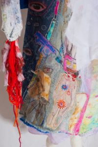 Troubles & Strife – detail by Janey Moffatt