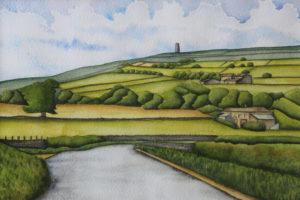 Castle Hill Huddersfield by Tammy