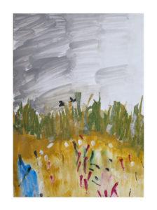 Summer Field by Tanya Roshanzamir
