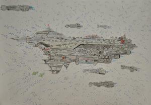 Terra fleet by Sheridan
