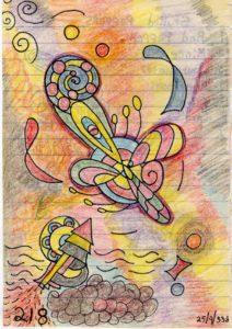 31. The Aleron in Flight (1993) by Charles Devus