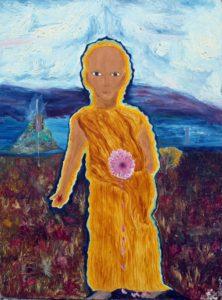 The Buddha by Hannah Light