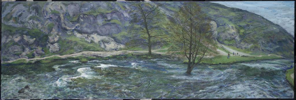 10287 || 2603 || The Dark River: Dovedale in April II || £1200 || 5101