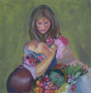 Flower Girl by Richard Laws