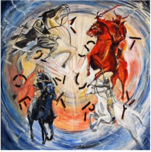 The Four Horsemen of the Apocalypse Ride into the 21st Century by Chris  Holden