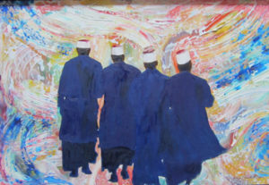 Four imams by Michael Allen