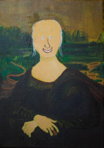 The Moaner Mortimer. After Da Vinci. by Colin Cameron