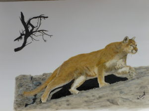 The Mountain Lion by Portrait of Charles Dickens