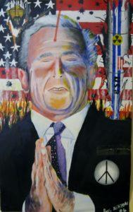 President Bush by Paul Ashton