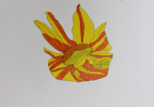 The Sunflower by Mel Coull