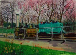 The Traction Engine by Charles Sanderson