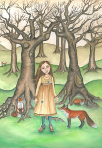 The Girl Who Lived With Foxes by Elle Isolde