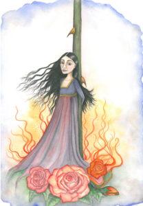 The Rose Must Burn by Elle Isolde