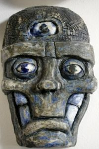third_eye__ceramic__2014 by Billy Weston