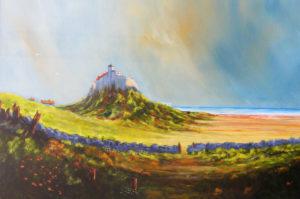 Holy Island by Thomas deBetham
