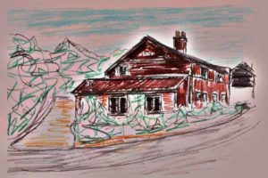 Preliminary Sketch For The Timothy House. by SeaSideSean