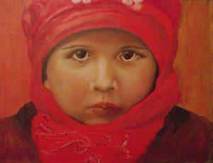 Portrait of Toby by Loretta Cusworth
