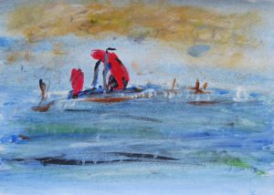Red Sail by Tom Paine