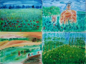 French Countryside Series by Tom Paine