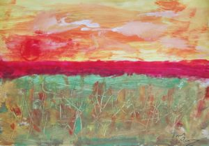 Setting Sun by Tom Paine