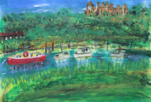 Arundel Castle by Tom Paine