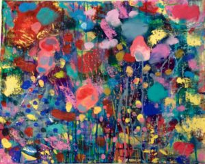 tracy_vass_title_bloom_acrylic_on_canvas_20_x_16_inches___125 by Tracy Vass