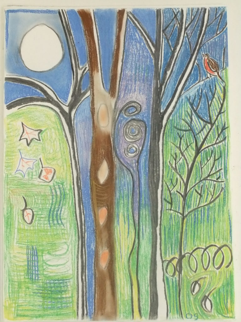 9381 || 2495 || Moon and Tree || If you intend to put this work up for sale || 4977