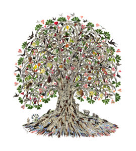 Tree of Life by Sue Trickey