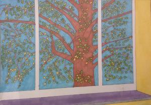 Tree Outside by ScruffyOwlet
