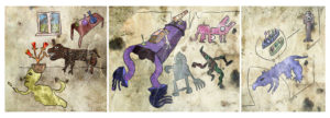 Triptych 01-02-2015 by Otto Magus