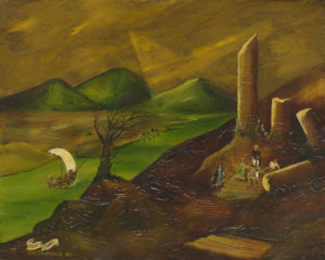 Landscape with Ruins by Edward MacDonald